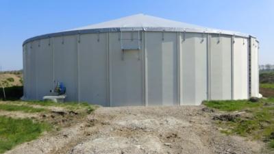 betonnen silo's